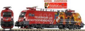 HOBBYTRAIN H2780S E-Lok Rh 1016 Feuerwehr   ÖBB   DCC Sound   Spur N kaufen
