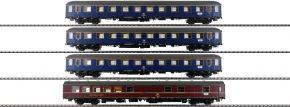HOBBYTRAIN H43023 4-tlg. Set 1 Messezug Hannover DB | AC | Spur H0 kaufen
