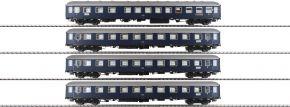 HOBBYTRAIN H43031 4-tlg. Wagen-Set F-Zug Merkur DB | AC | Spur H0 kaufen