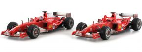 Hot Wheels B6223 2-teiliges Ferrari Set | Hungaroring 2004 | Modellautos 1:43 kaufen