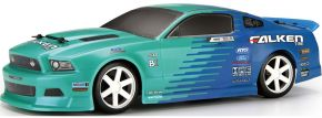 HPI 111230 Micro RS4 Falken Tire 2013 Ford Mustang RTR RC Auto Fertigmodell 1:18