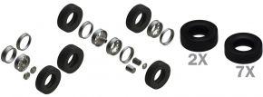 ITALERI 3909 Europäische Traktor Reifen Felgen Set | Zubehör 1:24 kaufen