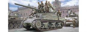 ITALERI 6568 M4A1 Sherman mit U.S. Infanterie | Panzer Bausatz 1:35 kaufen