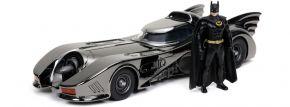Jada 253215009 Batmobile 1989 - Black Chrome   Limited Edition   mit Figur   Modellauto 1:24 kaufen