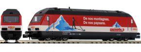 KATO K137123 E-Lok Re 4/4 460 COOP Pro Montagna SBB   analog   Spur N kaufen