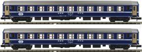 KATO K23009 2-tlg. Set Liegewagen RIC Bcm, 2.Kl., SBB   Spur N kaufen