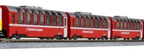 KATO 7074057 4-tlg. Set Ergänzungswagen Bernina Express RhB | Spur N kaufen