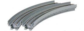 KATO 7077101 Viadukt-Neubaustrecke 1-gleisig, gebogen | 2 Stück | UNITRACK | Spur N kaufen
