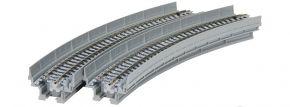 KATO 7077103 Viadukt-NBS mit gebogenem Gleis | R348-30° | 2 Stück | UNITRACK | Spur N kaufen