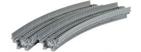 KATO 7077104 Viadukt-Neubaustrecke mit Gleis, gebogen | 2 Stück | UNITRACK | Spur N kaufen