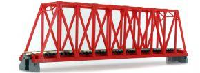 KATO 7077200 Kastenbrücke rot, mit Gleis | 1-gleisig | 248mm | UNITRACK | Spur N kaufen