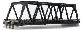 KATO 7077212 Kastenbrücke schwarz, mit Gleis   2-gleisig   248mm   UNITRACK   Spur N kaufen