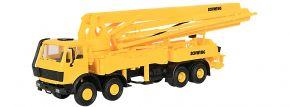 kibri 10200 Betonpumpe MB 3328, 4-achsig Schwing Bausatz Spur H0 kaufen