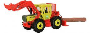 kibri 12254 MB Trac mit Frontlader und Seilwinde Forst Bausatz Spur H0 kaufen