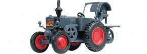 kibri 12255 LANZ Bulldog mit Bandsäge Traktor Bausatz Spur H0 kaufen