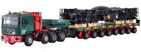 kibri 13601 MAN SK Schwertransport Schienenkran | Bausatz Spur H0 kaufen