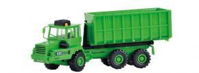 kibri 14020 KAELBLE GMEINDER Knicklenker Abrollfahrzeug mit Container Bausatz 1:87 kaufen