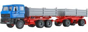 kibri 14651 DAF 3-achs Zugmaschine mit 2-achs Anhänger | Bausatz Spur H0 kaufen