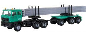 kibri 15209 DAF 2800 Rungenhängerzug  mit Betonteilen SchwarzBau Bausatz 1:87 kaufen