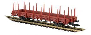 kibri 16202 Niederbordwagen 2achs braun Bausatz 1:87 kaufen