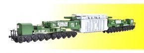 kibri 16500 Schienentiefladewagen MAN Uaai mit Trafo Spedition Kübler Bausatz Spur H0 kaufen