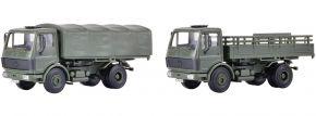 kibri 18051 MB 1017 Pritschenwagen Bundeswehr 2 Stück | Bausatz Spur H0 kaufen