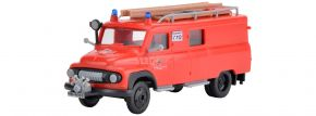 kibri 18255 Feuerwehr FORD FK 2500 | Bausatz Spur H0 kaufen