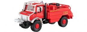 kibri 18270  Feuerwehr UNIMOG Waldbrandlöschfahrzeug Bausatz Spur H0 kaufen