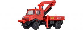 kibri 18271 Feuerwehr Unimog mit Palfinger Kran   Bausatz Spur H0 kaufen