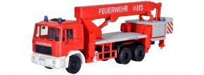 kibri 18273 Feuerwehr MAN mit Ruthmann Steiger | Bausatz Spur H0 kaufen
