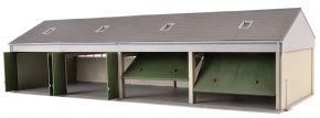 Kibri 18906 Bundeswehr Fahrzeughalle | Bausatz Spur H0 kaufen