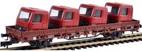 kibri 26253 Niederbordwagen Kls mit Führerhäusern DB | DC | Spur H0 kaufen