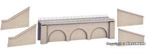 kibri 37670 Gemauerter Bahndamm eingleisig | Bausatz Spur N + Z kaufen