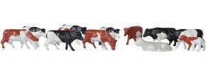 kibri 38152 Deko-Set Kühe, 12 Stück Bausatz Spur H0 kaufen