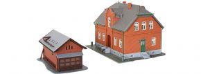 kibri 38188 Siedlungshaus Oberhausen mit Nebengebäude Bausatz Spur H0 kaufen