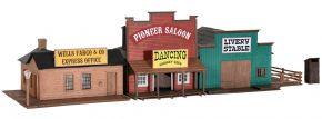kibri 38506 Westernhäuser Ensemble Saloon Bausatz Spur H0 kaufen