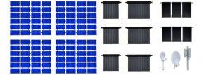 kibri 38602 Deko-Set Solar Röhren Photovoltaik | Bausatz Spur H0 kaufen