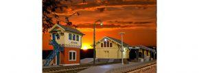 kibri 38994 Set Rund um den Bahnhof Bausatz Spur H0 kaufen