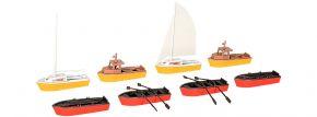 kibri 39159 Boote Set Bausatz Spur H0 kaufen