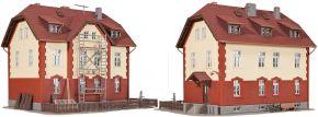 kibri 39315 Eisenbahner Wohnhaus mit Nebengebäude Bausatz Spur H0 kaufen