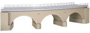 kibri 39722 Steinbogenbrücke m. Eisbrecherpfeilern gebogen, eingleisig Bausatz Spur H0 kaufen