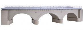 kibri 39723 Steinbogenbrücke mit Eisbrecherpfeilern gebogen eingleisig | Bausatz Spur H0 kaufen