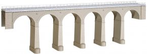 kibri 39724 Aachtal-Viadukt mit Eisbrecherpfeilern, eingleisig Bausatz Spur H0 kaufen
