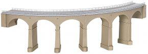kibri 39726  Rosanna-Viadukt mit Eisbrecherpfeilern, gebogen Bausatz Spur H0 kaufen