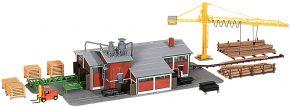 kibri 39816 Sägewerk mit Schwellensäge + Inneneinrichtung | Bausatz Spur H0 kaufen