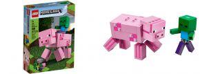 LEGO 21157 BigFig Schwein mit Zombiebaby | LEGO MINECRAFT kaufen