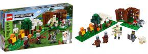 LEGO 21159 Der Plünderer Außen | LEGO MINECRAFT kaufen