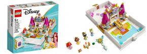 LEGO 43193 Märchenbuch Abenteuer mit Arielle, Belle, Cinderella und Tiana | Disney Princess kaufen