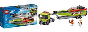 LEGO 60254 Rennboot Transporter   LEGO CITY kaufen