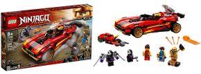 LEGO 71737 X-1 Ninja Supercar | LEGO NINJAGO kaufen